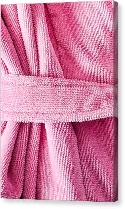 Pink Dressing Gown Canvas Print by Tom Gowanlock