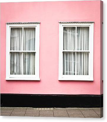 Pink House Canvas Print by Tom Gowanlock