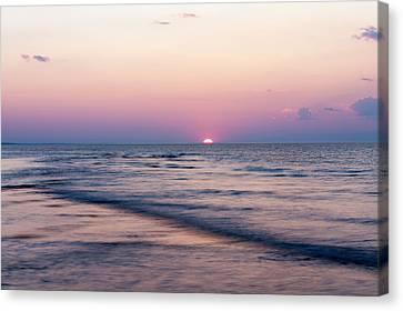 Pink Sunset Canvas Print by Matt Dobson