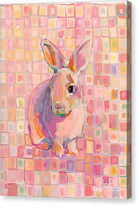 Pinky Canvas Print by Kimberly Santini
