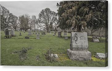 Pioneer Resting Place Canvas Print by Jean Noren