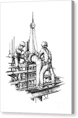 Pipefitters Canvas Print by Steve Knapp