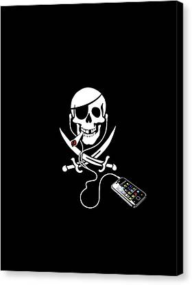 Pirate Party, Artwork Canvas Print by Science Photo Library