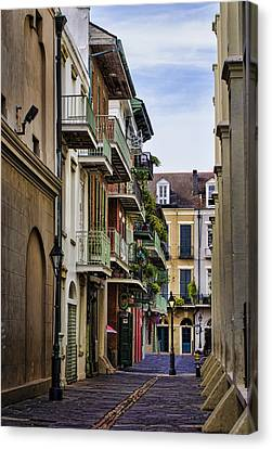 Pirates Alley Canvas Print by Heather Applegate