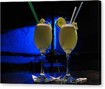 Pisco Sour In Puno Canvas Print by RicardMN Photography