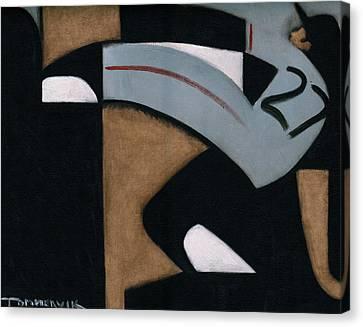 Juan Marichal High Leg Kick  Art Print Canvas Print by Tommervik