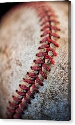 Pitchers Stitches Canvas Print by Karol Livote