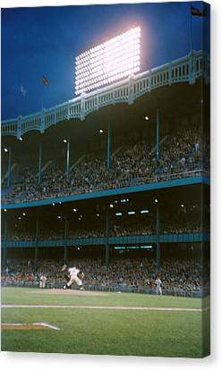 Old Yankee Stadium  Canvas Print by Retro Images Archive