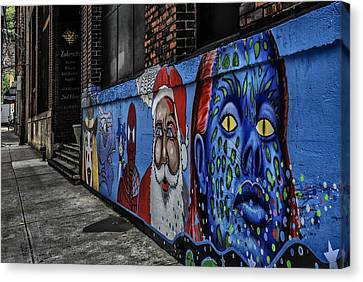 Pittsburgh Mural Canvas Print by Anthony Citro