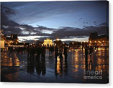 Place Du Carrousel Canvas Print by Randi Shenkman