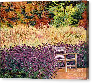 Place Of Solitude Canvas Print by David Lloyd Glover