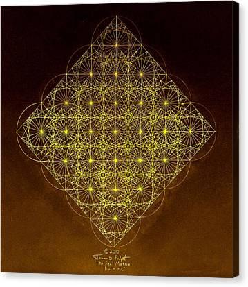 Planck Space Time  Canvas Print by Jason Padgett