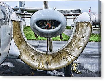 Plane - Channel Wing Close Up Canvas Print by Paul Ward