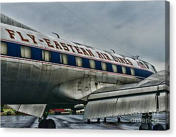 Plane Fly Eastern Air Lines Canvas Print by Paul Ward