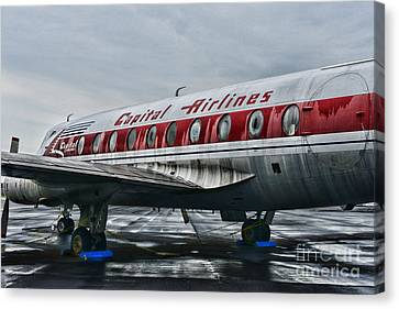Plane Obsolete Capital Airlines Canvas Print by Paul Ward