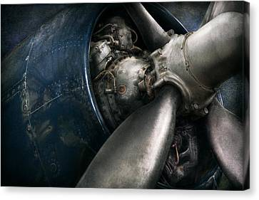 Plane - Pilot - Prop - You Are Clear To Go Canvas Print by Mike Savad