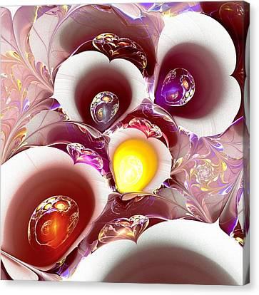Planet Nursery Canvas Print by Anastasiya Malakhova