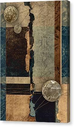 Planetary Shift #1 Canvas Print by Carol Leigh