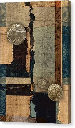 Planetary Shift #2 Canvas Print by Carol Leigh
