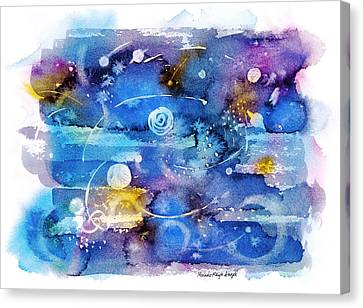 Planets Canvas Print by Michele Angel