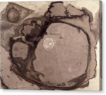 Planets Canvas Print by Victor Hugo