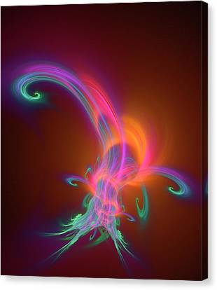Plasma Physics Canvas Print by David Parker