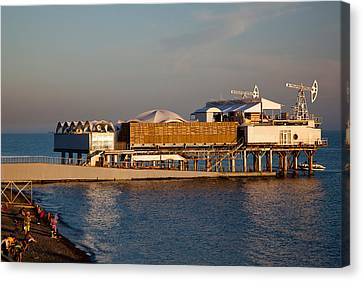 Platform Nightclub, Lighthouse Beach Canvas Print by Panoramic Images