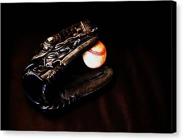 Play Ball Fine Art Photo Canvas Print by Jon Van Gilder