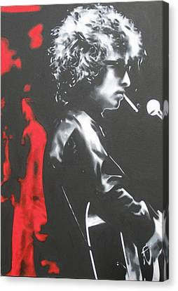 Play It Fuckin' Loud Canvas Print by Luis Ludzska