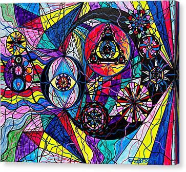 Pleiades Canvas Print by Teal Eye  Print Store