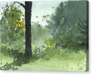 Plein Air 8-1-13 Canvas Print by Sean Seal