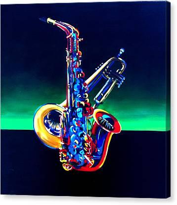 Plenty-of-horn Canvas Print by Beth Smith