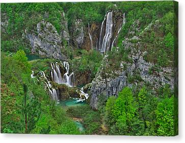 Plitvice Canvas Print by Ivan Slosar