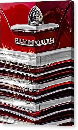 Plymouth Pride Canvas Print by Caitlyn  Grasso