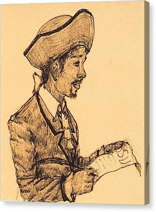 Poet Canvas Print by George Harrison