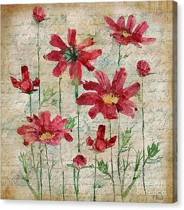 Poetic Garden IIi Canvas Print by Paul Brent