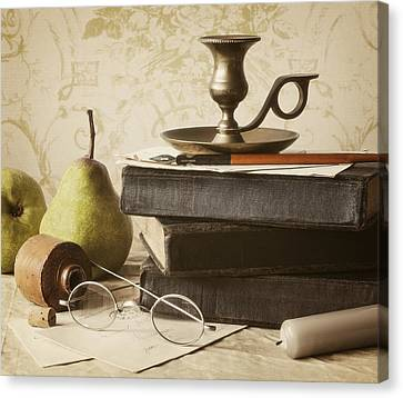 Poet's Corner Canvas Print by Amy Weiss