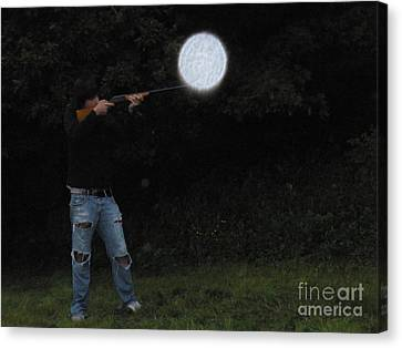 Point And Shoot Canvas Print by Polly Anna