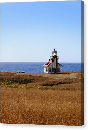 Point Cabrillo Light House Canvas Print by Abram House
