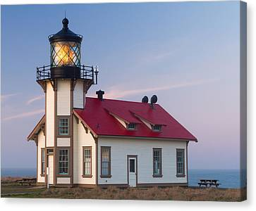 Point Cabrillo Lighthouse Canvas Print by Georgia Fowler