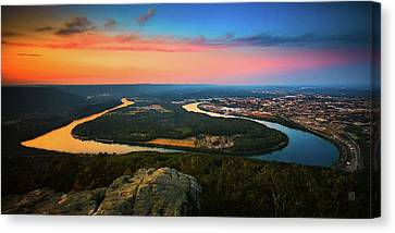 Point Park Overlook Canvas Print by Steven Llorca