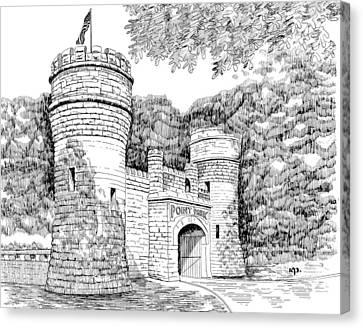 Point Park Canvas Print by Robert A Powell
