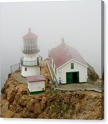 Point Reyes Lighthouse Canvas Print by Art Block Collections