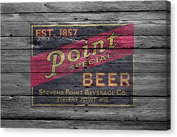 Point Special Beer Canvas Print by Joe Hamilton