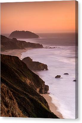 Point Sur Lighthouse Canvas Print by Alexis Birkill