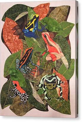 Poison Dart Frogs #2 Canvas Print by Lynda K Boardman