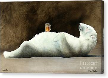 Polar Beer... Canvas Print by Will Bullas