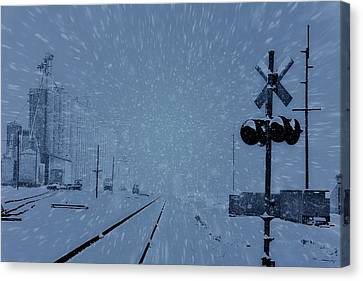 Polar Express Canvas Print by Dan Sproul