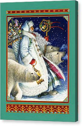 Polar Magic Canvas Print by Lynn Bywaters