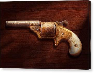 Police - Gun - Mr Fancy Pants Canvas Print by Mike Savad